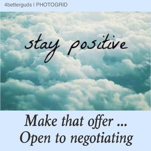 Other - Go ahead & Make that offer if Item On your mind...
